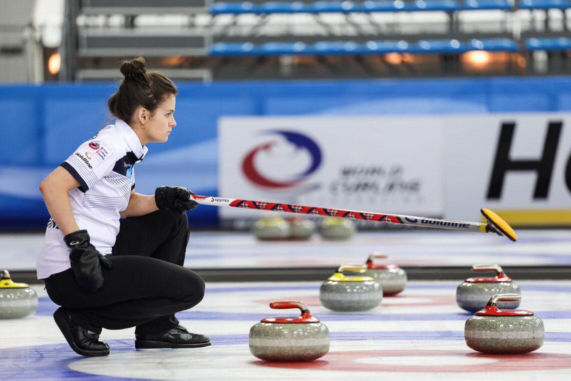 Curling Athlete - Skip